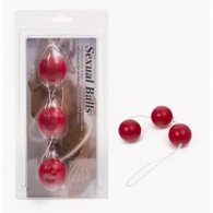 Anal Balls ABS Material Red 3,8cm