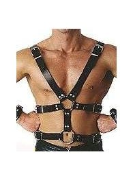 BDSM Ανδρικό αξεσουάρ από δέρμα με λουριά