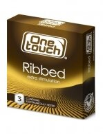 CONDOMS ONE TOUCH RIBBED