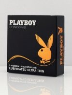 Condoms Playboy Ultra Thin 3pcs