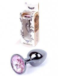 Plug-Jewellery Dark Silver PLUG- Rose 7 εκ