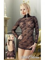 ΦΟΡΕΜΑ LACE MINI DRESS WITH SLEEVES