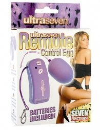ΜΠΙΛΙΑ ΩΟΕΙΔΗ ULTRA 7 RETE CONTROL VIBRATING EGG