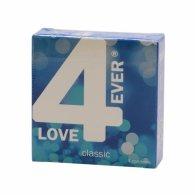 Προφυλακτικά Love4ever Classic 4 τμχ