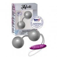 Στρογγυλές μπίλιες Joyballs silver-metallic