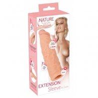 Κάλυμμα πέους Nature Skin Extension Sleeve +3cm