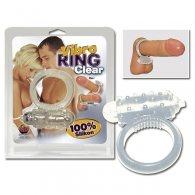 Δαχτυλίδι πέους Vibro Ring Διάφανο