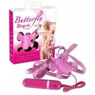 """Δονητής Πεταλούδα """"Butterfly Strap-On"""""""