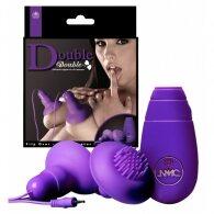 Δονούμενες βεντούζες Double Nipple and Clitoris