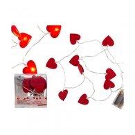 Φωτάκια καρδιές LED