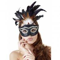 Μάσκα σε μαύρο-χρυσό