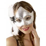 Μάσκα ασημί