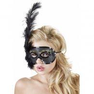 Μάσκα σε Μαύρο/Χρυσό