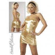 Χρυσό Μίνι Φόρεμα