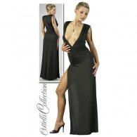 Μακρύ Φόρεμα με Βαθύ Ντεκολτέ