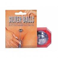 Στρογγυλές μπίλιες Vibrating Balls Silver