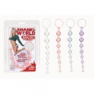 Μοβ Πρωκτικές μπίλιες Shanes World Anal Beads