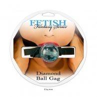 Φίμωτρο FF Diamond Ball Gag