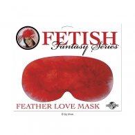 Μάσκα Fetish Fantasy Feather Mask - Red