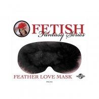 Μάσκα Fetish Fantasy Feather Mask - Black