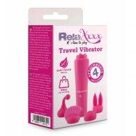 Κλειτοριδικό RelaXxxx Travel Vibrator ροζ