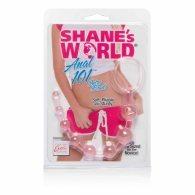 Πρωκτικές μπίλιες Shanes World Anal Beads απαλό ροζ