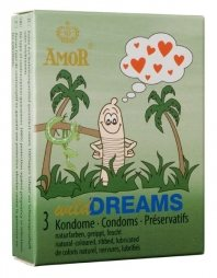 AMOR Wild Dreams / 3 pcs content