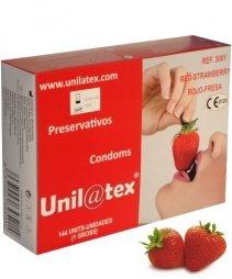 ΠΡΟΦΥΛΑΚΤΙΚΑ ΤΩΝ 144 ΤΕΜΑΧΙΩΝ BOX OF 144 RED STRAWBERRY CONDOMS