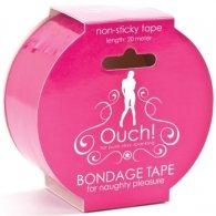 Ροζ Αυτοκόλλητη Ταινία Φαντασιώσεων OUCH! BONDAGE TAPE PINK