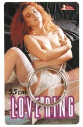 BDSM Δακτυλίδι πέους από λεπτό μεταλλικό κρίκο