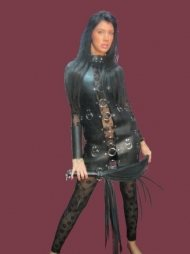 BDSM Γυναικείο φόρεμα με περιλαίμιο