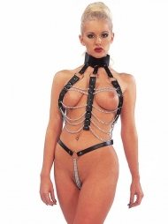 BDSM Γυναικείο δερμάτινο αξεσουάρ