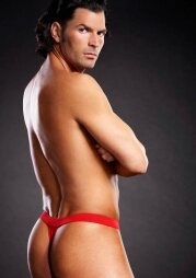 Performance Microf. Thong Red