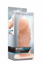 PERFORMANCE BEADED SLEEVE BEIGE