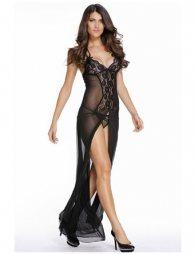 Black Sleepwear Gown
