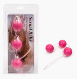 Anal Balls ABS Material Pink 3,8cm
