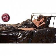 Fetish Collection Lack Bettdecke schwarz 135 x 200 cm