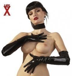 Μαύρα Λατεξ γάντια για Εκείνον και Εκείνη