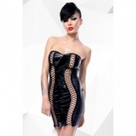 Astrid Provocative Black Mini Dress