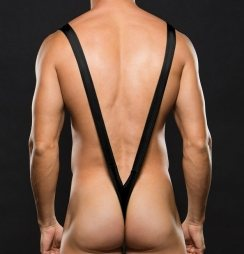 Envy Slingshot Thong Black
