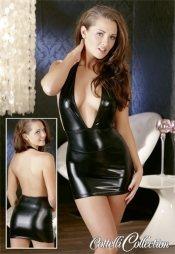 Μίνι γυαλιστερό φορεματάκι για όλες τις περιπτώσεις