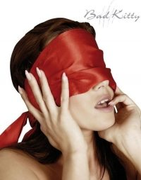 Red Satin Blindfold
