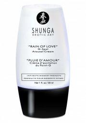 Γυναικεία Κρέμα Shunga Rain of Love G-Spot Arousal Cream 30ml