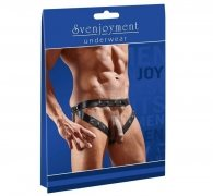 Svenjoyment Wetlook Straps Belt