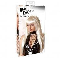 Long Straight Platinum Blonde Wig