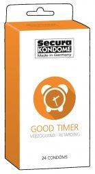 Προφυλακτικά καθυστέρησης Secura Good Timer 24 τεμ