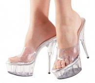 Glitter High Heels Sandals