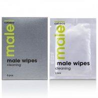 Μαντηλάκια Καθαρισμού της ευαίσθητης περιοχής των ανδρών MALE Co