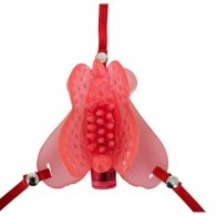 Tickling Butterfly Vibro Strap-on