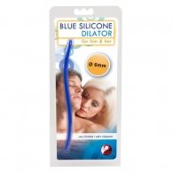 You2Toys Blue Silicone Dilator 16.5 cm